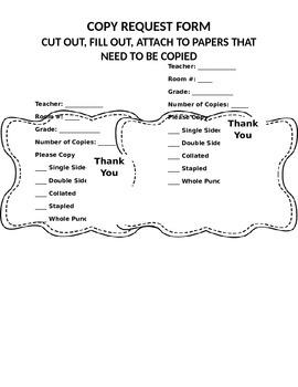 Copy Form