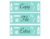Copy, Grade, File, Extra, & M-F