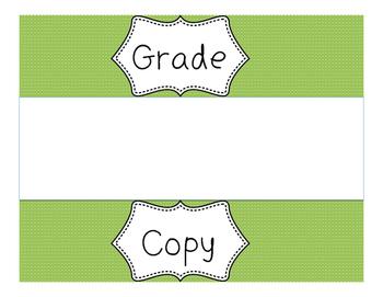 Copy, Grade, File Organizers for Sterilite Drawers