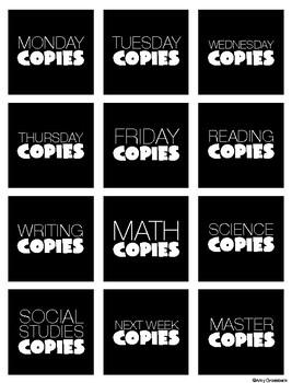 Copy Organization
