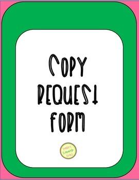 Copy Request Form
