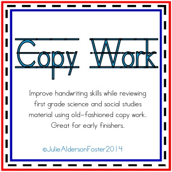 Copy Work for Writing