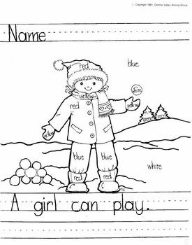 Copy a Story Grades K-2