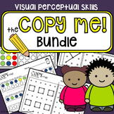 Copy practice {Copy Me Bundle} - Visual perceptual skills