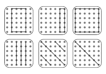 Copy practice {Copy Me} - Visual perceptual skills & Fine motor skills - OT