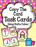 Copy the Cards. Linking Cubes Task Cards. Interlocking counting cubes.