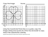 Copy the Image Coordinate Plane Game