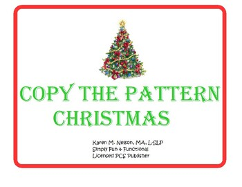 Copy the Pattern...Christmas