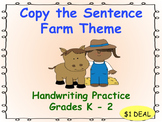 Copy the Sentence Farm  $1 Deal