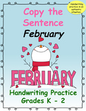 Copy the Sentence February $1 Deal