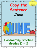 Copy the Sentence June  $1 Deal