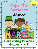 Copy the Sentence March $1 Deal