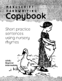 Copy the Sentence: Short Sentences Using Nursery Rhymes