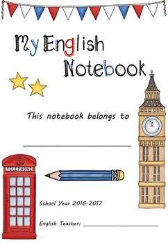 Copybook, Notebook Cover Page [UPDATED]