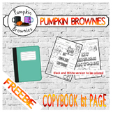 Copybook/notebook first page