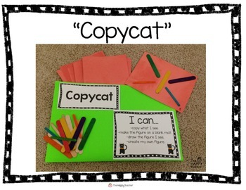 """Copycat"" Center for Pre-K and Kindergarten {FREEBIE!]"