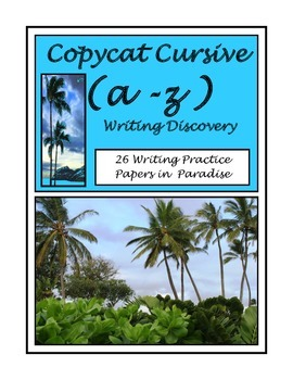 Copycat Cursive A-Z Writing Penmanship Practice