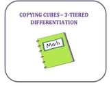 Copying Cubes - 3D Shapes Kindergarten