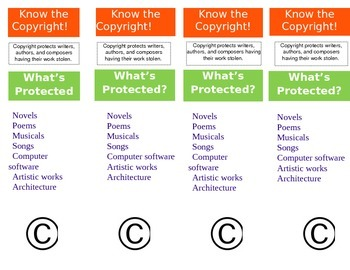 Copyright Bibliography Bookmarks