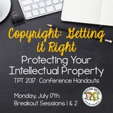 Copyright: Getting it Right