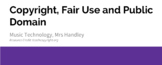Copyright Law Lesson Activity Document, PowerPoint and Quiz