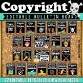 Copyright & Plagiarism Digital Citizenship Posters, Activi