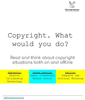 Copyright: What Would You Do?