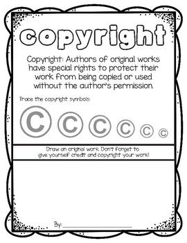 Copyright Worksheet