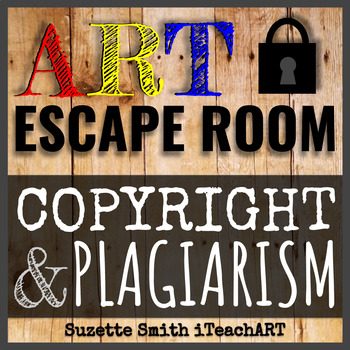 Art Copyright and Plagiarism Escape Room