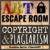 Copyright and Plagiarism Art Escape Room