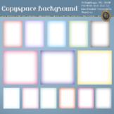 "Copyspace Background Ombre Background 12x12"" 8.5x11"" 5x7"""