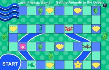 Coral Friends Games Printable Pack