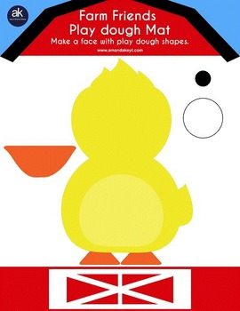 Farm Friends Math and Crafts Printable Pack