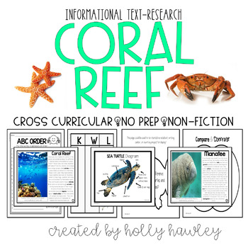 Coral Reef- A Non-Fiction Magic Tree House Accompany Pack