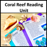 Coral Reef CLOSE Reading Science Literacy Unit