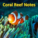 Coral Reef Damage Notes