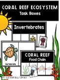 Coral Reef Ecosystem Task Boxes