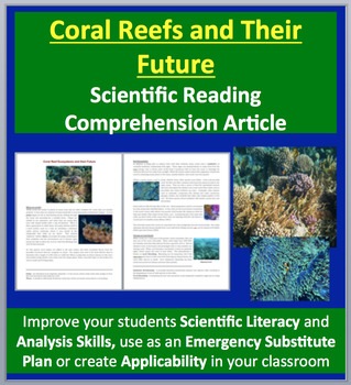 Coral Reef Ecosystems and their Future - Science Reading Article