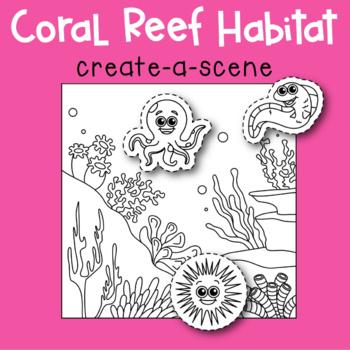 Coral Reef Create-a-Scene