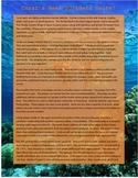 Coral Reef Reading and Crossword Puzzle