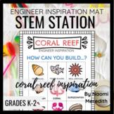 Coral Reef STEM Activity| Engineer Inspiration | Printable