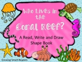 Coral Reef Read, Write and Draw Book