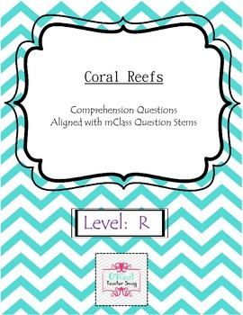Coral Reefs-Comprehension Questions