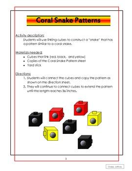 Coral Snake Patterns