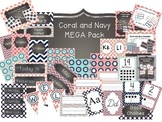 Coral and Navy MEGA Pack - Updated