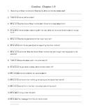 Coraline Chapters 1-5 Scavenger Hunt