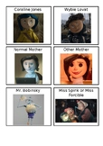 Coraline Character Cards