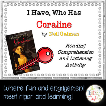 Coraline I Have Who Has Reading Comprehension and Listening