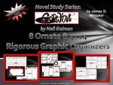 Coraline Neil Gaiman Graphic Organizers 8.5x14 Legal Size Common Core
