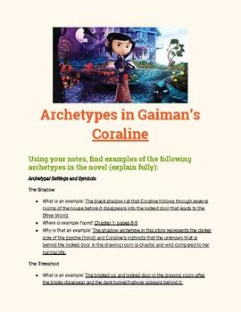 Coraline Novel Study: Archetypes in Literature